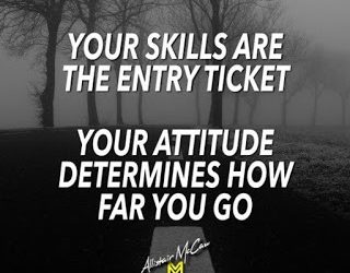 How To Get The Most Out of A Coach – Strategy #3: Attitude Is A Skill