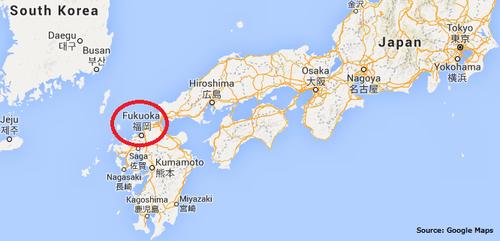 Japan Day 1: Fukuoka