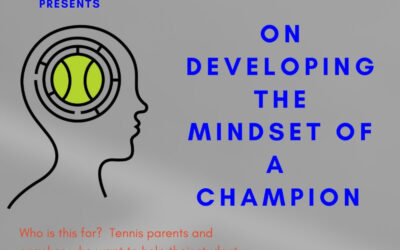 Workshop: On Developing the Mindset of a Champion